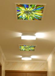 Витражи в потолок